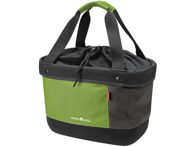 KlickFix Shopper Alingo Sacoche pour vélo, green/brown